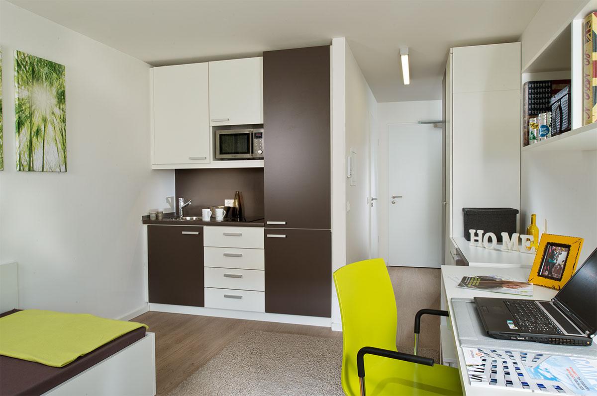 campus viva studentenwohnen bremen. Black Bedroom Furniture Sets. Home Design Ideas