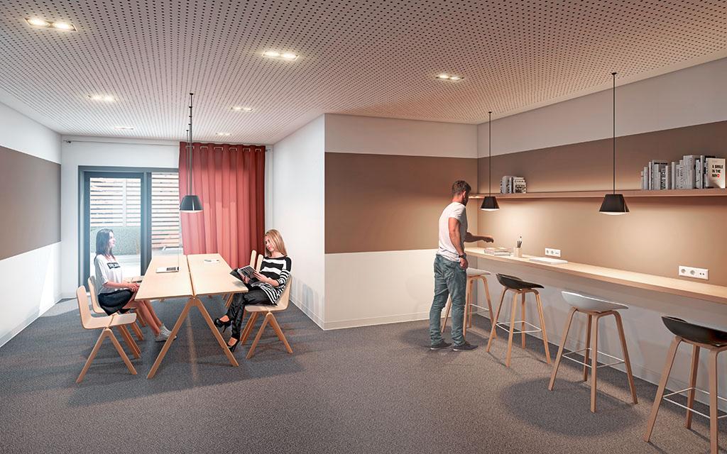 Campus viva studentenwohnen berlin ii for Berlin architektur studieren